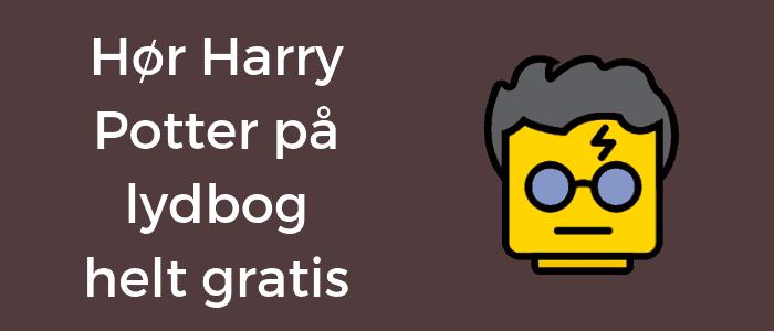 Hør Harry Potter på lydbog helt gratis