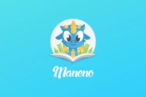 Maneno børnelydbogsapp